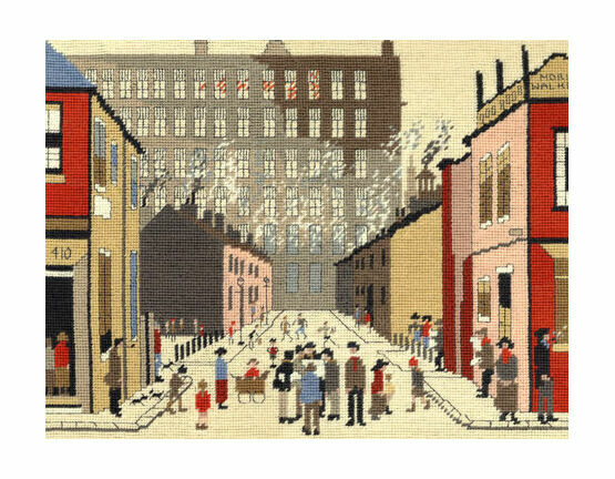 Lowry Street Scene Tapestry Kit