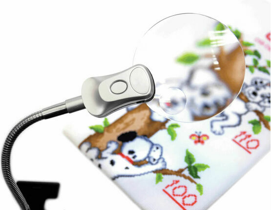 Clip-on Magnifying Lamp - Small