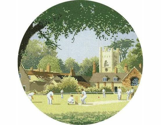 Sunday Cricket Cross Stitch Kit