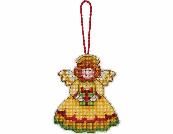 Angel Ornament Cross Stitch Kit