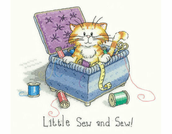 Little Sew & Sew Cross Stitch Kit