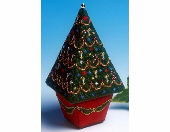 Large Christmas Tree 3D Cross Stitch Kit