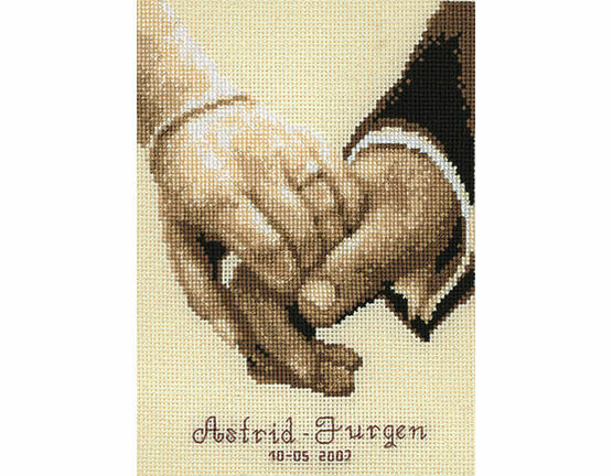 Wedding Happiness Cross Stitch Kit