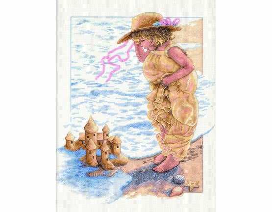 Sandcastle Dreams Cross Stitch Kit
