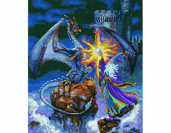 Magnificent Wizard Cross Stitch Kit