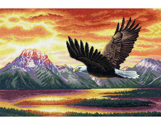 Silent Flight Cross Stitch Kit