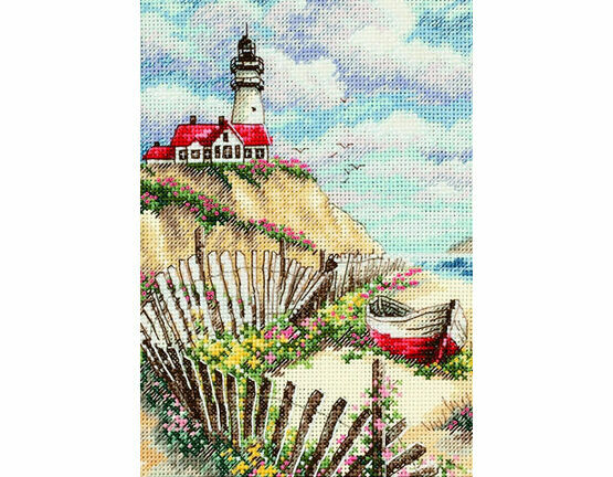 Cliffside Beacon Cross Stitch Kit
