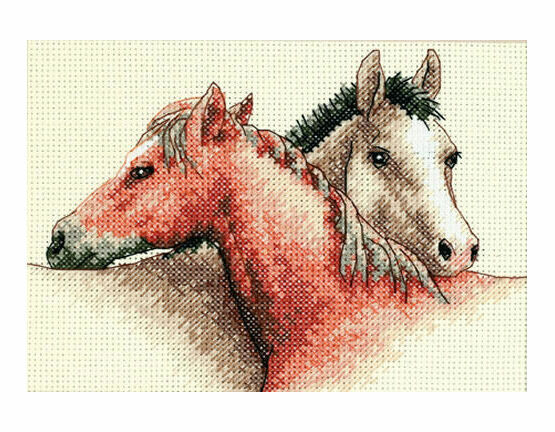 Horse Pals Cross Stitch Kit