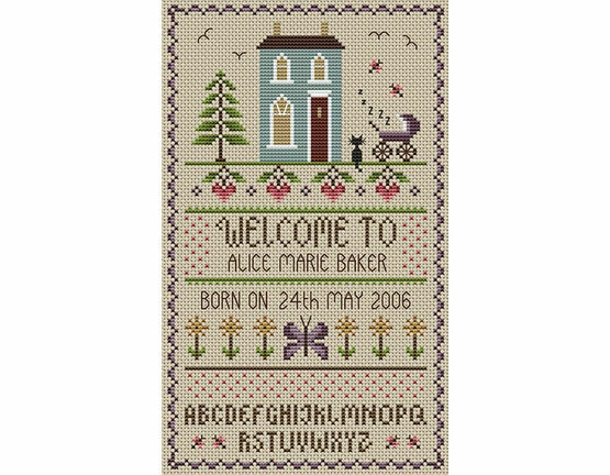 New Baby Cross Stitch Kit