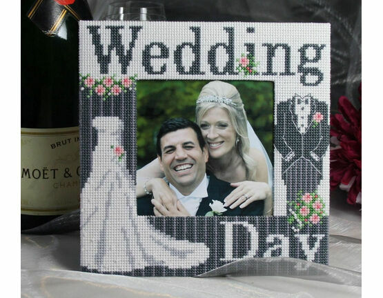 Wedding Day Stitch A Frame Cross Stitch Kit