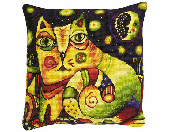 Moon Road Cushion Panel Cross Stitch Kit