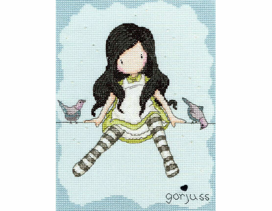 Gorjuss On Top Of The World Cross Stitch Kit