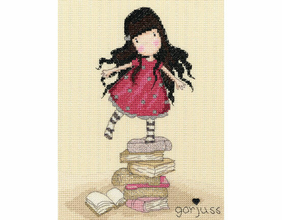 Gorjuss New Heights Cross Stitch Kit