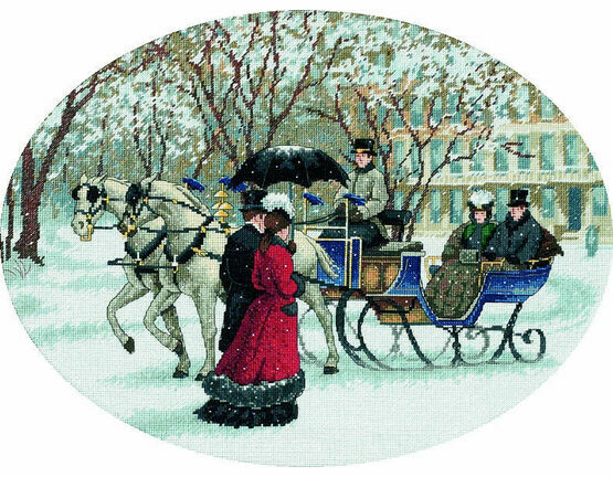 Winter Impressions Cross Stitch Kit