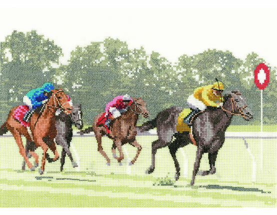 The Finishing Post Cross Stitch Kit