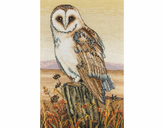 Owl Horizon Cross Stitch Kit