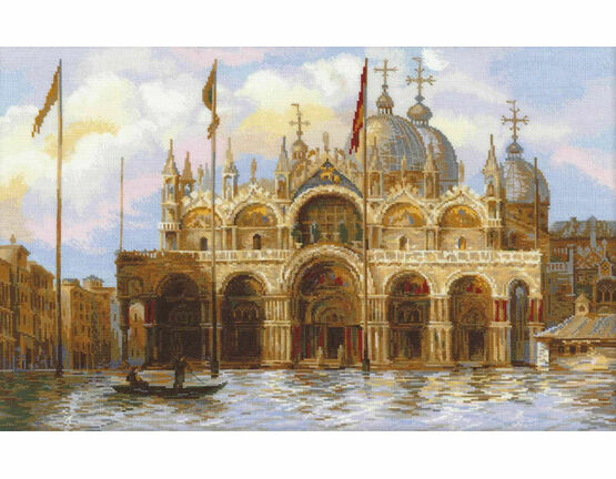 Venice - St Mark's Square Cross Stitch Kit