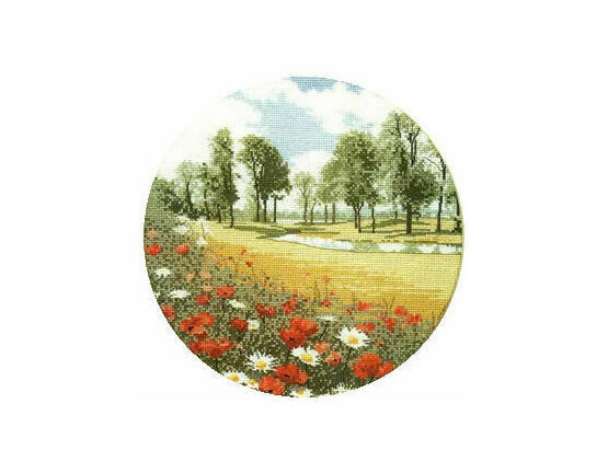 Summer Meadow Cross Stitch Chart