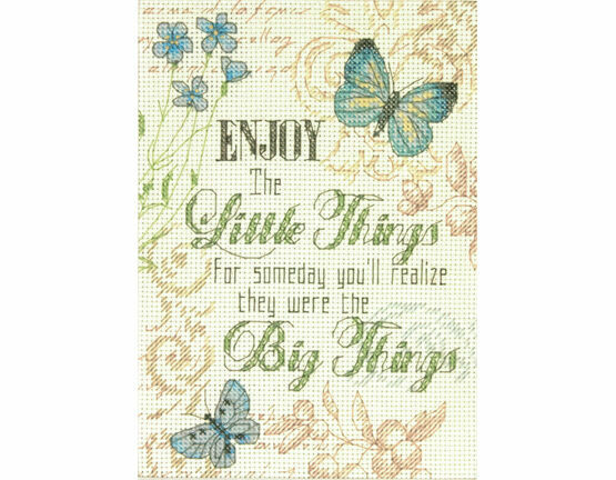 Little Things Cross Stitch Kit