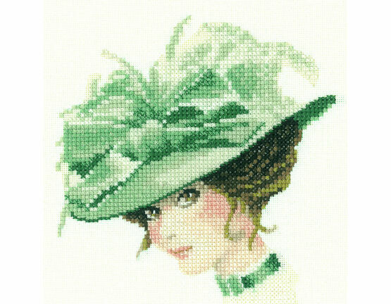 Charlotte Miniature Cross Stitch Kit
