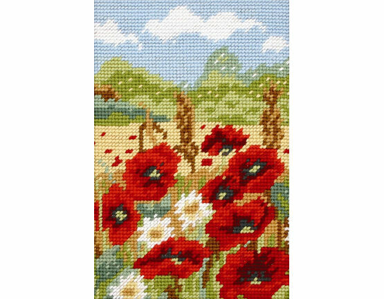 Poppy Field Beginners Tapestry Kit