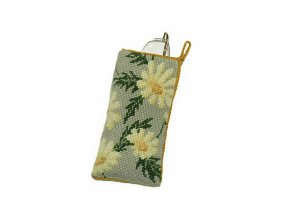 Marguerite Tapestry Glasses Cross Stitch Case Kit
