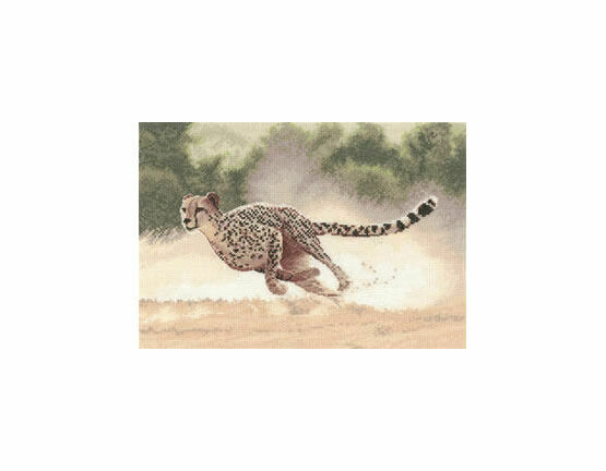 Cheetah Cross Stitch Kit
