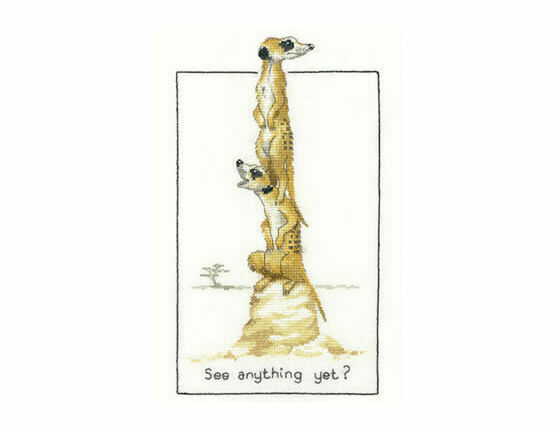 See Anything Yet? Cross Stitch Kit